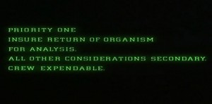 Special Order 937 from Alien (1979)